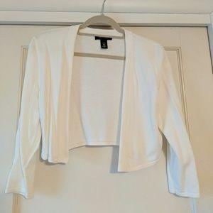 White Cardigan by WHBM